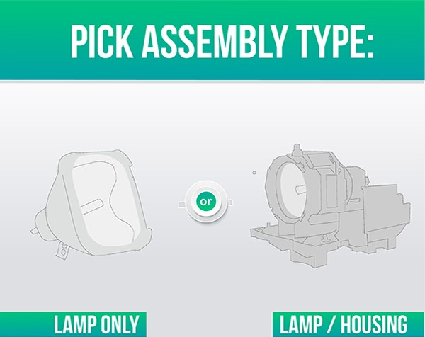 Lutema Projector Replacement Lamp with Housing Bulb for Optoma EP738